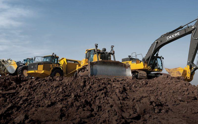 types of heavy construction equipment