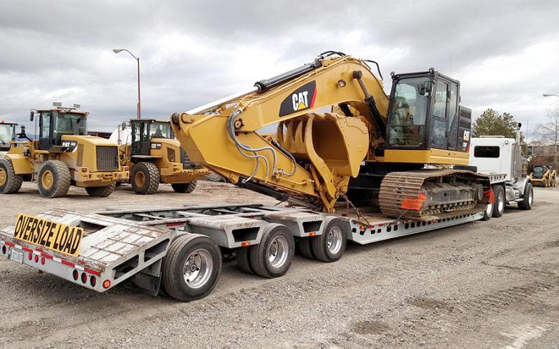 transporting heavy machinery,