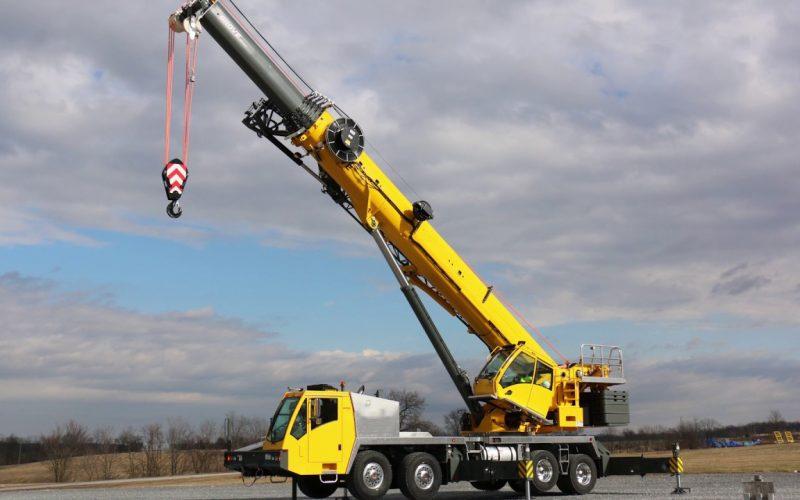 used terrain cranes