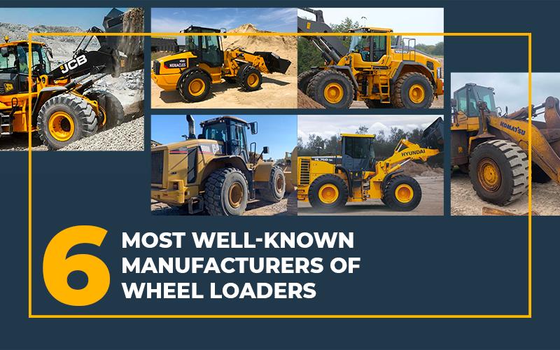 Manufacturers and Models of Wheel Loader