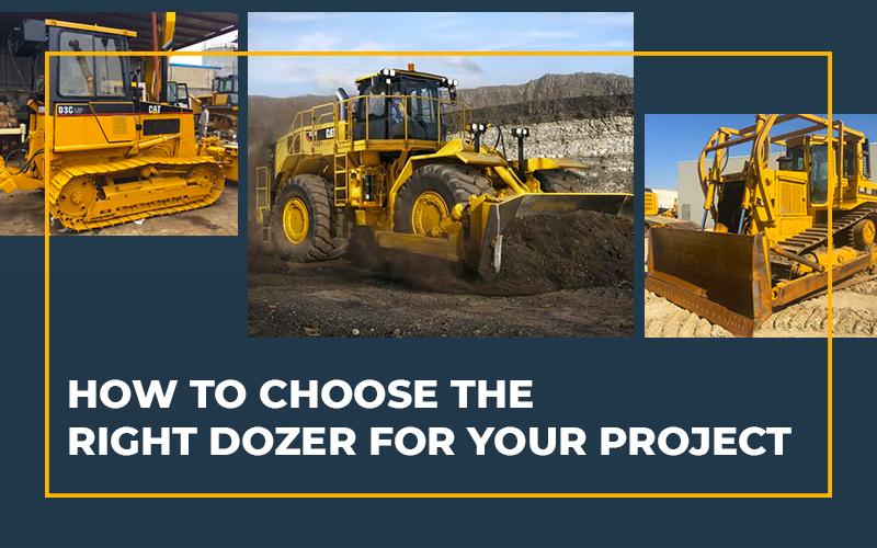 Choose the Right Dozer