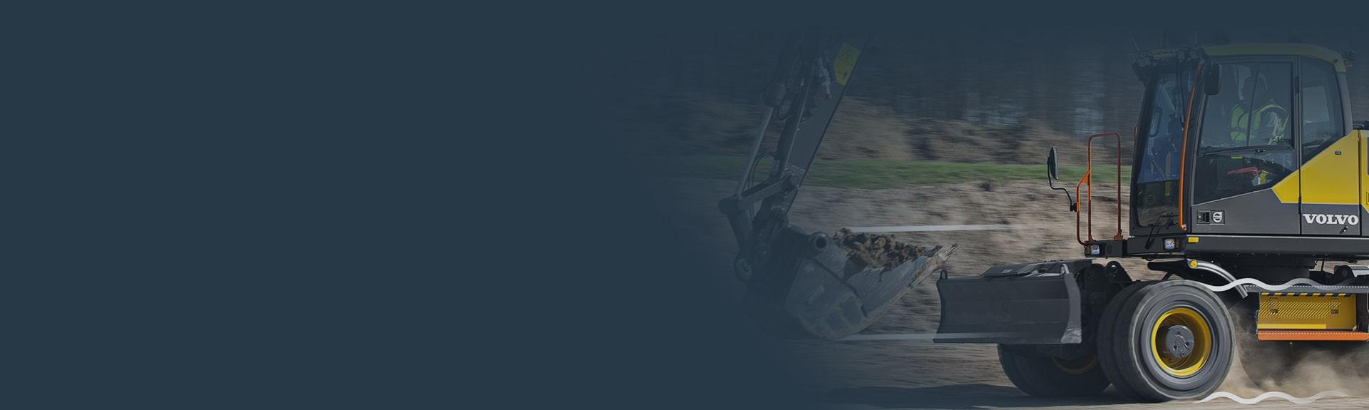 Used Wheel Excavators for Sale